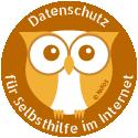 Datenschutz-Eule für Selbsthilfe im Internet